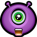 shout, Avatar, Alien, monsters, happy, halloween, monster MediumOrchid icon