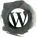 blog, Wordpress, word press DarkSlateGray icon