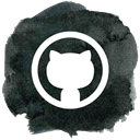 Social, Github, Git, social media, octocat DarkSlateGray icon
