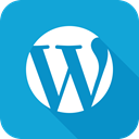 Wordpress, Wp DarkTurquoise icon