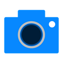media, photo, Camera DodgerBlue icon