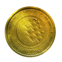 coin, webmoney, gold DarkGoldenrod icon
