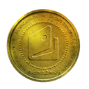 yandex, gold, coin, yandex money DarkGoldenrod icon