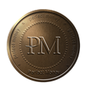 perfectmoney, Money, coin, bronze, perfect Black icon