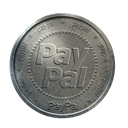 silver, paypal, coin Icon