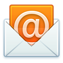 Email, open, Letter, @, mail Lavender icon