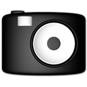 Camera, video Black icon