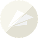 mail, send, Email, Message, Letter, Plane, paper, notification Linen icon
