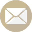 Email, mail, send, notification, envelope, Message, Letter Tan icon