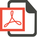Pdf DarkSlateGray icon