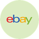 Ebay, ecommerce, payment, shopping, Money Gainsboro icon