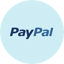 paypal, Money, shopping, payment, card Lavender icon