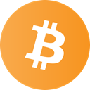 Currency, payment, shopping, Bitcoin, card, Money Goldenrod icon