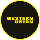 western, Finance, union, western union, payment, transaction Black icon
