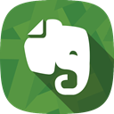 Notes, social netowrk, Evernote OliveDrab icon