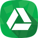 google drive, files, social network SeaGreen icon