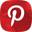 pinterest, social network, images Firebrick icon