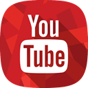 social network, you tube, video Firebrick icon
