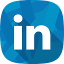 Hr, social network, Linkedin, recruitment DarkCyan icon