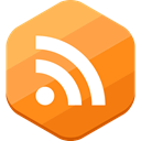 Rss, social network, feed SandyBrown icon