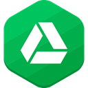 social network, google drive SeaGreen icon