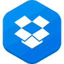 dropbox, social network, file sharing DodgerBlue icon