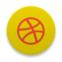 dribbble Gold icon