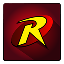 hero, Super, robin Maroon icon
