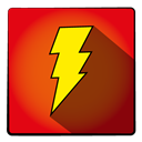 Super, hero, Captainmarvel OrangeRed icon