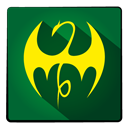 hero, Super, ironfist DarkGreen icon