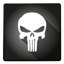 Super, hero, thepunisher DarkSlateGray icon