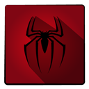 spider, hero, Super, Spiderman Maroon icon