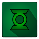 hero, Super, Lantern, Greenlantern DarkGreen icon
