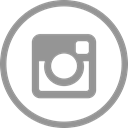 Instagram, Circle LightSlateGray icon
