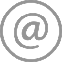 mail, Message, Email, Letter, Circle, Social LightSlateGray icon