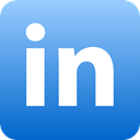 Linkedin, Social RoyalBlue icon