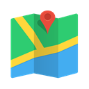 pin, locate, Pointer, location, navigation, position, Map, marker, Google maps MediumSeaGreen icon