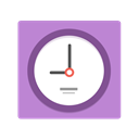 time, hour, hours, minute, alarm clock, morning, Alarm, watch, Clock Orchid icon