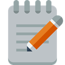 notepad Silver icon
