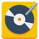 turntable Gold icon