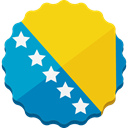 bosnia-herzegovina, bosnia Gold icon