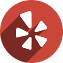 Yelp IndianRed icon