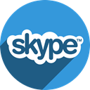 Skype DodgerBlue icon