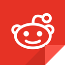 Reddit, Communication, reddit logo Crimson icon