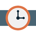timer, Alarm, watch, time, Clock WhiteSmoke icon