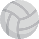 Game, volleyball, play, Ball, sport Gainsboro icon