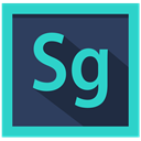 adobe, speedgrade logo, Design, speedgrade DarkSlateGray icon