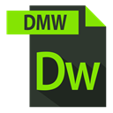 adobe, dmw extention, extention, file format DarkSlateGray icon
