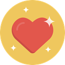 Heart, love SandyBrown icon