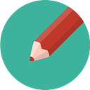 write, Edit, document, Pen, pencil LightSeaGreen icon